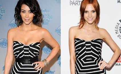 Fashion Face-Off: Kim Kardashian vs. Ashlee Simpson-Wentz