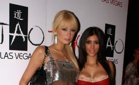Kim Kardashian Celebrates Hers and Nick Cannon's Birthday at TAO