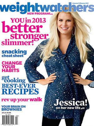 Jessica Simpson Weight Watchers Cover