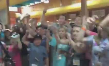VIDEO: 232 Cancer Patients Cheer on Team USA, Believe That We Will Win
