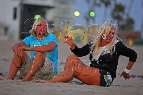 Charlie Hill and Linda Hogan
