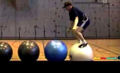 Exercise Ball Fails: It Only LOOKS Easy