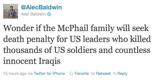 Alec Baldwin Tweet