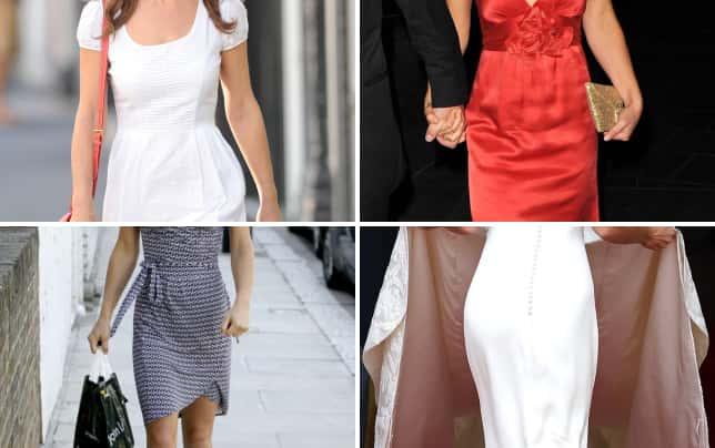 Pippa middleton white dress