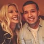 Javi Marroquin and Madison Channing Walls