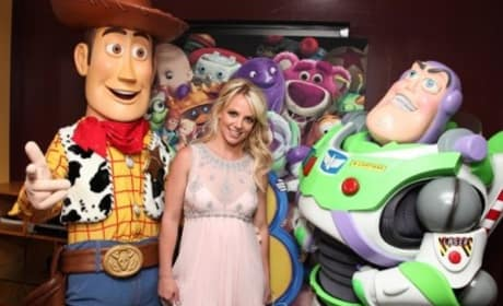 At the Toy Story 3 Premiere