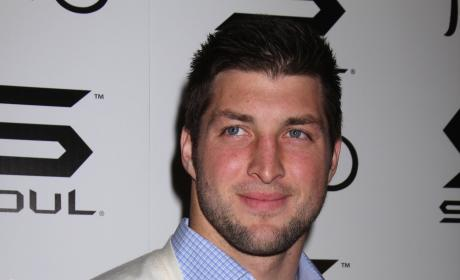 Tim Tebow in Sweater