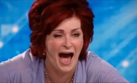 Sharon Osbourne: Drunk on Xtra Factor