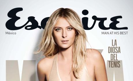 Maria Sharapova Esquire Magazine Cover