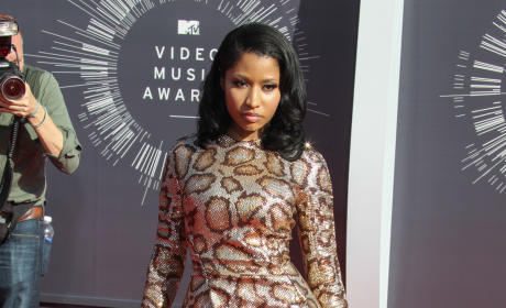 Nicki Minaj at the 2014 VMAs