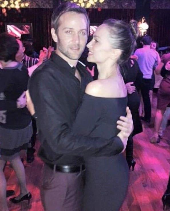 Karina Smirnoff and Jason Adelman