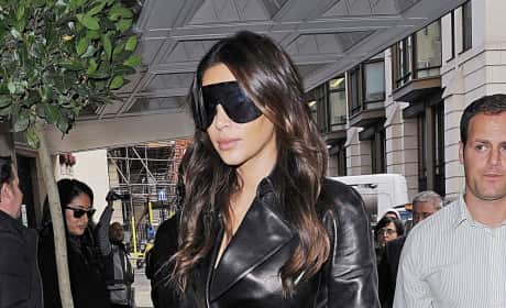What do you think of Kim Kardashian's giant sunglasses?