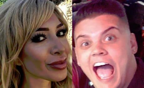 Farrah Abraham & Tyler Baltierra Clash Over Claims That He's Gay