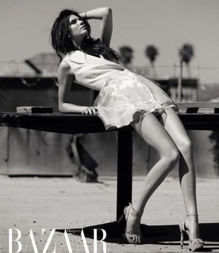 Kendall Jenner Poses For Harper S Bazaar Arabia Is Unable
