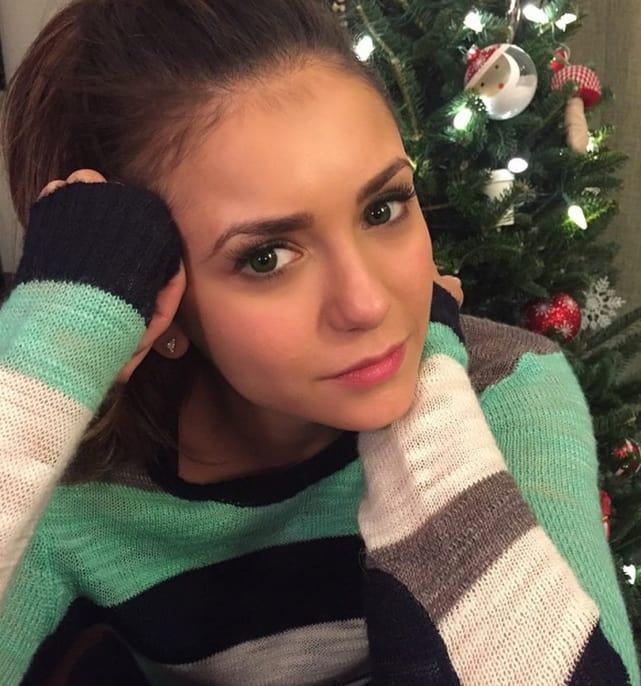 Nina Dobrev Selfie