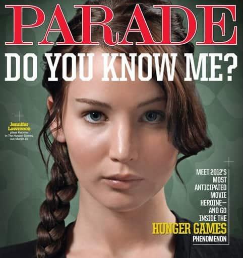 Jennifer Lawrence Parade Cover