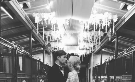 Kaley Cuoco Wedding Photo