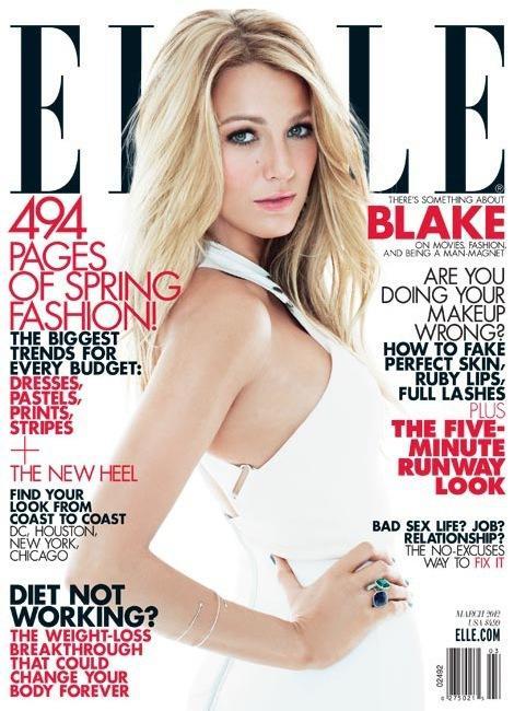Blake Lively Elle Cover