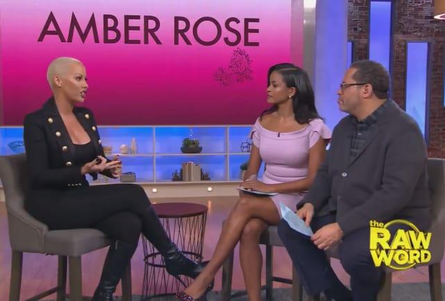 Amber rose speaks