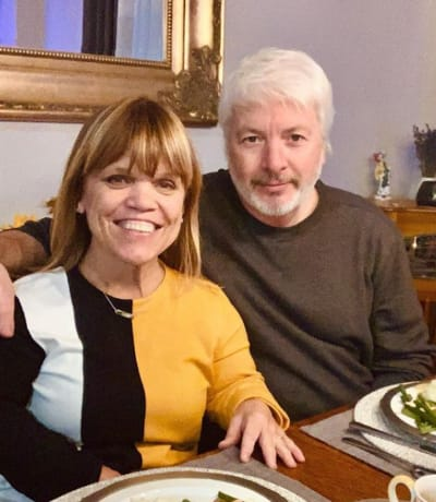 Amy Roloff and Chris Marek on Thankgiving