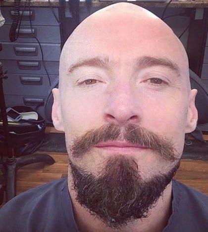 Bald Hugh Jackman