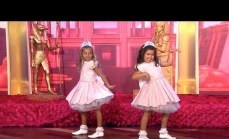 """Sophia Grace & Rosie Perform """"Dark Horse"""" on Ellen"""