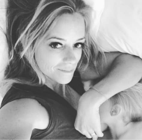 Nicole Curtis Breastfeeding