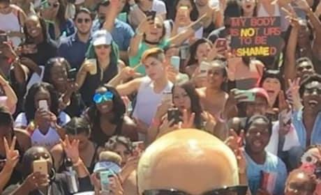 Amber Rose on Her Slutwalk