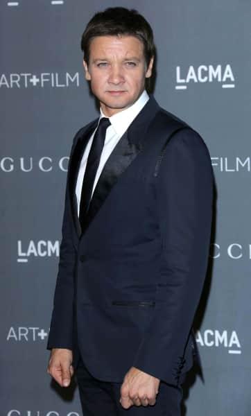 Jeremy Renner on the Red Carpet