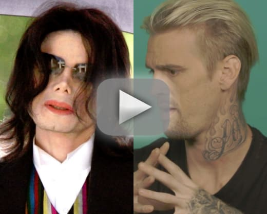 Aaron carter accuses michael jackson of something inappropriate