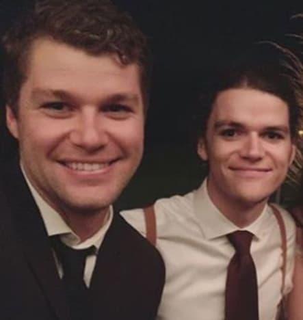Jeremy y Jacob Roloff en la boda