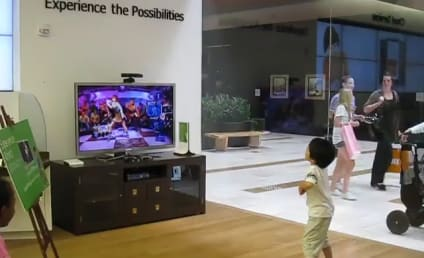 "Kid Busts Out SICK Dance Moves to ""Disturbia"" at Microsoft Store"