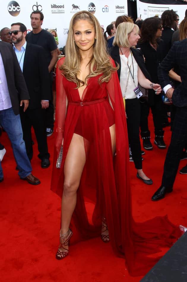 Jennifer Lopez at the Billboard Music Awards