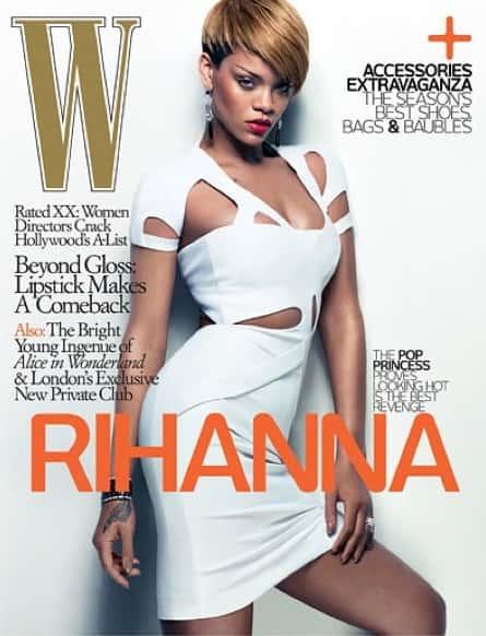 Rihanna W Cover