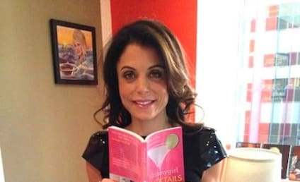 Bethenny Frankel Promotes Skinny Cocktails Book with REALLY Skinny Photo