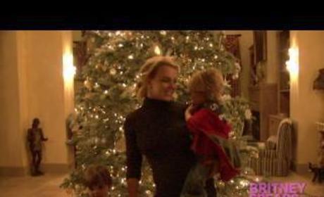 Britney Spears Christmas Greetings