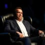 Arnold Schwarzenegger Sits Down
