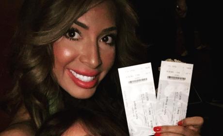 Farrah Abraham Sophia Abraham Pete's Dragon Tickets Pic