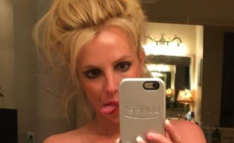 Britney Spears Selfie
