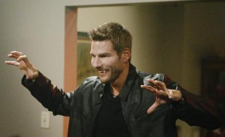 Brad as a Vampire
