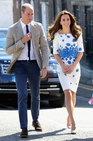 Prince William Kate Middleton Luton Visit