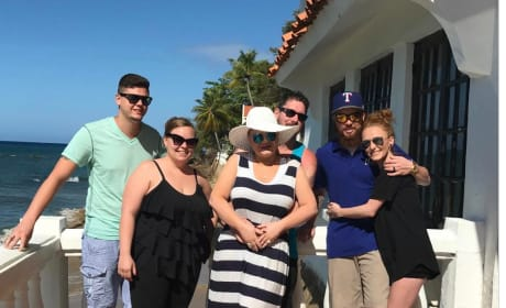 Catelynn Lowell, Amber Portwood, Maci Bookout Vacation Pic