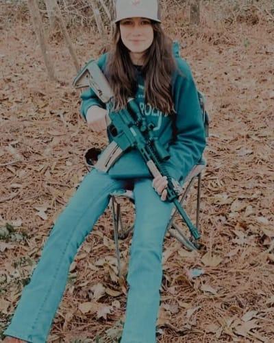 Maryssa Eason With a Gun
