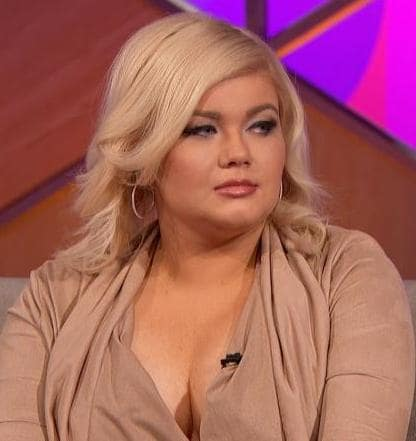 Amber Portwood at Reunion