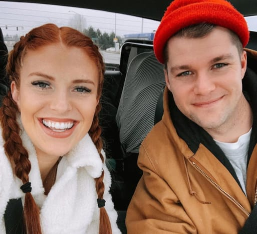 Audrey Roloff and Jeremy Roloff Say Cheeese