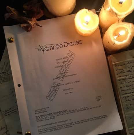 Nina Dobrev script