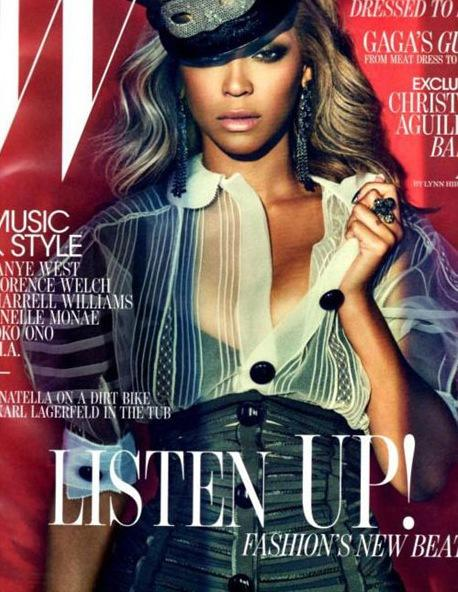 Beyonce W Magazine Cover