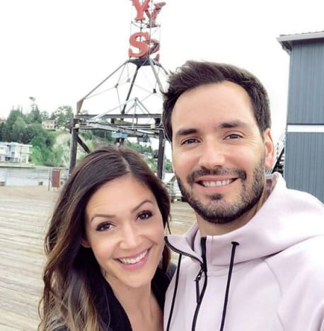 Desiree Hartsock and Husband Chris Siegfried