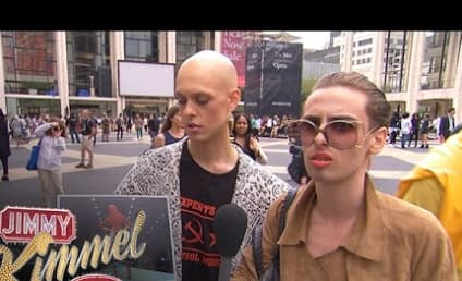 Jimmy Kimmel Makes a Fool Out of New York Fashion Week Attendees