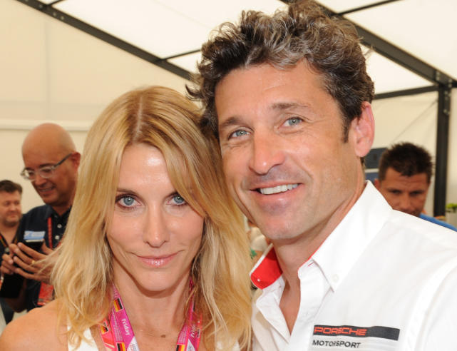 Patrick Dempsey and Jillian Fink